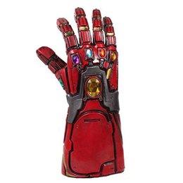 $enCountryForm.capitalKeyWord UK - [New]Costume party Marvel Avengers Final battle Latex Iron Man Gloves model toy Action Figure Cosplay Action Figure model gift