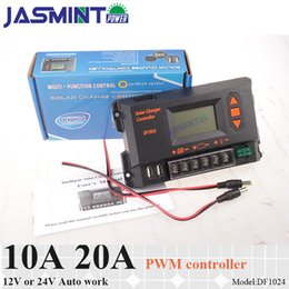 Only Led Australia - 10A 20A 12V 24V auto work 48V PWM SOLAR charge controller with LCD display,charge regulator for only lead acid battery