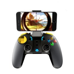 Wireless Pc Controllers Australia - Wireless Bluetooth Gamepad Multimedia Game Controller Joystick for Games Android IOS PC Phone