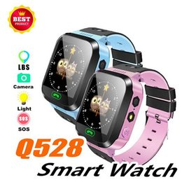 $enCountryForm.capitalKeyWord Australia - Hot Q528 Smart Watch For Kids Watch With Remote Camera Anti-lost Children Smartwatch LBS Tracker Wrist Watches SOS Call For Android IOS