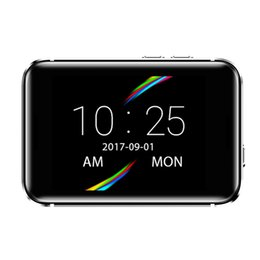 Wrist Watch Mp3 Mp4 Australia - 696 i5S Smart Mobile Watch 2.2-inch MTK2502C Pedometer SIM card Video Record Music 32g TF Extend GSM MP3 MP4 Camera Smart watch