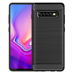 silicone fingerprint 2019 - New hot mobile phone case FOR: Samsung Galaxy S S8 S9 S10 S10e So12 So13 Lite Plus gift phone case anti-shock anti-shock