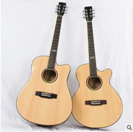 $enCountryForm.capitalKeyWord Australia - free shipping 40-inch bright folk acoustic guitar spruce mahogany electric box neck corner guitar factory direct sales