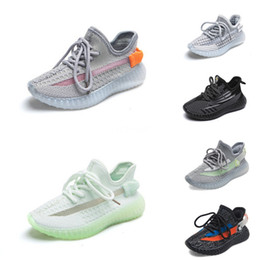 best shoe child girl UK - 2020 Best Quality Kids Shoes Baby Toddler Run Sneakers Kanye West Yz 500 Running Shoes Infant Children Boys Girls Shoes #168