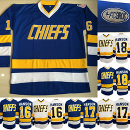 Chiefs Ice Hockey Jersey Canada - Charlestown Chiefs Jersey Mens Hanson  Brother Slap Shot 16 17 f980780ca