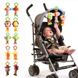 Developmental Toys Australia - Baby Handbell Newborn Boys Girls Infant Soft Cute Animal Doll Handbells Developmental Baby Bells Toys