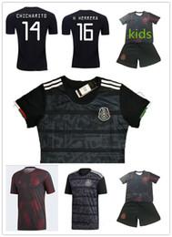$enCountryForm.capitalKeyWord Australia - 2019-20 Gold cup Mexico soccer jerseys Kits+Sock 19\20 G. DOS SANTOS H. LOZANO VELA blackout kids football shirt Jersey Suit JIMENEZ uniform