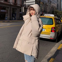 gate style Australia - Jacket Down New Style Cotton Jacket For Women Oversize Thickened Cotton For Bread And Dongmen Gate