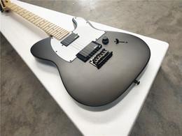 Jim Root Jazzmaster Autographe / 6 cordes Guitare électrique / Erable Col / SUBLIVIGHT Noir Guitare électrique / Livraison gratuite en Solde