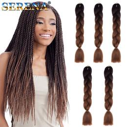 braided hair weave 2019 - Xpression Synthetic Braiding Hair Wholesale Cheap 24inch Color Cheap Human Hair Weave Bundles Kanekalon Jumbo Ponytail H