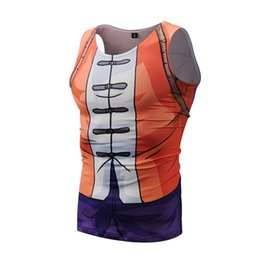 men compression tights shirt UK - New Gym Vest Top Quick Dry Compression Tights Sleeveless Sport Shirt Men Gym Clothing For Summer Cool Men's Running Vest