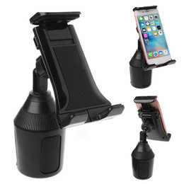 Phone iPad holders online shopping - Cup Phone Holder Car Mount Adjustable Universal for iPhone iPad Samsung Huawei inch Smartphones Tablet PC
