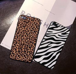 $enCountryForm.capitalKeyWord Australia - New Leopard grain Phone Case Tempered Glass cases For Iphone Xr 6 7 8 X Plus Xs Max Phone Cases Cell Phone Case