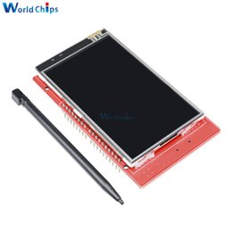 "$enCountryForm.capitalKeyWord Australia - 3.2"" 3.2 Inch 240x400 Tft Lcd Touch Screen Expansion Shield Led Display Module 5v   3.3v With Touch Pen For Arduino"