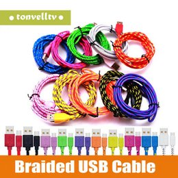 Iphone androId mobIle online shopping - Manufacturers m M M Android v8 nylon braided data cable Mobile phone FT FT FT Nylon type C usb charging cable