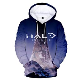 halo games 2019 - Shooting game Halo 3D Hoodies Men women Fashion Hip Hop Keep Warm Autumn 3D Print Halo Men's Hoodies and Sweatshirt