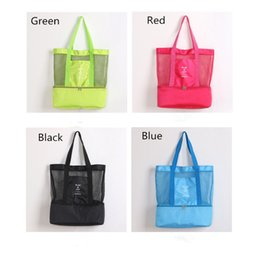 $enCountryForm.capitalKeyWord Australia - Multifunction Insulated Cooler Bag Double Layer Picnic Lunch Handbag Outdoor Travel Camping Bags Makeup Storage Bag Mesh Tote Bags Hot