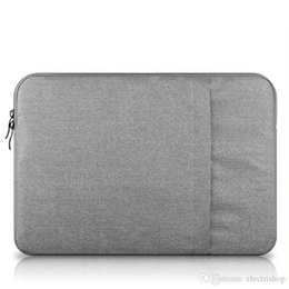 apple macbook air pouch UK - shopitem High quality Shockproof handbag Sleeve Case for Macbook air pro11 12 13.3 15 Bag Pouch Cover For Ipad Air 1 2 5 6 Pro 9.7 Cases