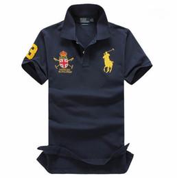 Polo Ralph Man Australia - For Men POLO Ralph American brand design men's cotton double buckle polo shirt fashion avant-garde factory direct