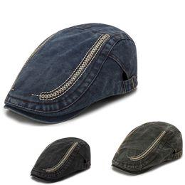 55cdff06781 Discount fashion women newsboy hat - Fashion Men And Women denim Old Retro  Cowboy Beret Cap