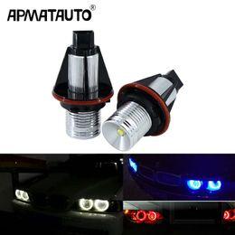 $enCountryForm.capitalKeyWord Australia - 2Pcs Error Free LED Angel Eyes Marker Lights Bulbs For BMW E39 E53 E60 E61 E63 E64 E65 E66 E87 525i 530i xi 545i M5
