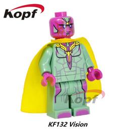 China Marvel Super Heroes Infinity War Guardians of Galaxy Avengers Movies & Video Game & Cartoon Blocks Toys Figures Kopf Blocks KF132 cheap old video games suppliers