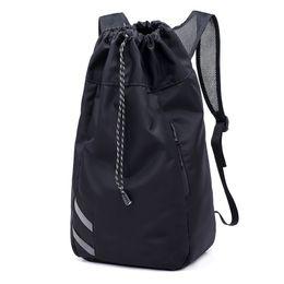$enCountryForm.capitalKeyWord Australia - MoneRffi Men Large Basketball Backpack School Bags For Balls Soccer Drawstring Mash Pack Fitness Bucket Bag Outdoor Sports bag
