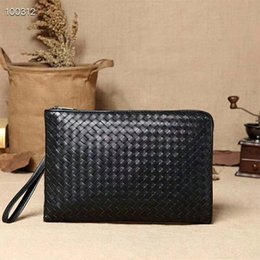 $enCountryForm.capitalKeyWord Australia - high quality woven leather bag Designer clutch Fashion bag leisure storage bag 2019 hot Designer bags