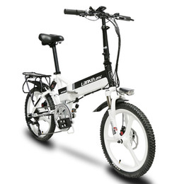 $enCountryForm.capitalKeyWord Australia - Cyrusher G550 full suspension electric bike 3 knife wheel 240W 48V brushless motor Electric bicycle with smart odometer