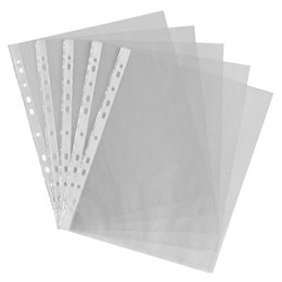 $enCountryForm.capitalKeyWord Australia - A4 clear plastic punched pockets   wallets   sleeves 200 Pcs
