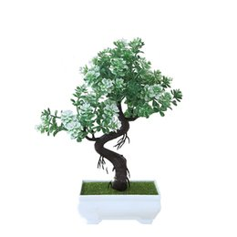 Decoration fortune online shopping - Bonsai Fortune Tree With Pot Artificial Plant Decoration For Home Office Desk Windowsill