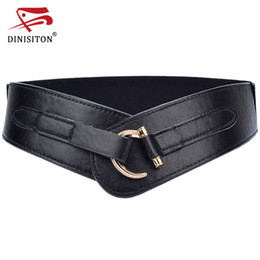 Band Clothes For Australia - DINISITON Women's Wide Belt High Quality Cummerbunds For Woman Elastic Band Fashion Clothing Accessories Straps CMYF04