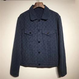 Wholesale women coats jeans resale online – Luxury Mens Coats Women Brand Jacket Winter Brand Jackets desigenr denim jackets Fashion Outdoor brand Windbreaker jeans coat B103594L