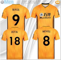 $enCountryForm.capitalKeyWord Australia - 2019 Wolverhampton Wanderers soccer jerseys 19 20 Wolves camisetas home SAISS Boly NEVES RAUL Doherty Adult and kids kit football shirt