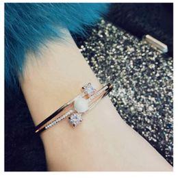 Pearl Channel Australia - Internet celebrities are popular in crystal bracelets, fashion pearl bracelets, girls.