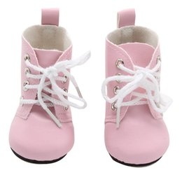 pair boys shoe Australia - 1 Pair Shoes For 18 Inch Doll Toy Mini Doll Shoes For Cartoon Doll Boots Dolls Sneackers Accessories Hot Sale 7 Cm