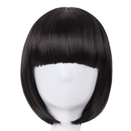 Hair Extensions & Wigs Synthetic Wigs Cosplay Wig Fei-show Synthetic Heat Resistant Fiber Short Wavy Hair Women Ladies Costume Halloween Carnival Events Hairpiece