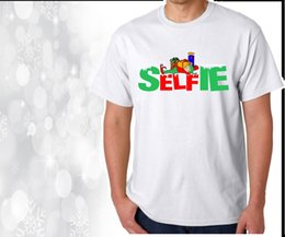 $enCountryForm.capitalKeyWord NZ - Christmas T Shirt Selfie Elf Unisex Ladies or Kids T Shirts Novelty X mas Tee's summer o neck tee, free shipping cheap tee,2019 hot tees