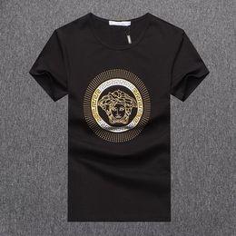 f8e099e37 Hot Sale Designer T Shirt for Men 2019 New Arrival Summer Top Tees Short  Sleeve Mens Clothes Solid Color Brand Shirt Plus Size M-3XL