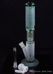 sandblasted water bongs NZ - 13.5 Inches Sandblasted Glass Water Pipe with 8 Arm Perc Smoke Glass Bongs Oil Rigs.