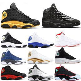 182dd4aad43 2019 13 13s Basketball Shoes Men Atmosphere Grey Hyper Royal Grey Toe Melo  Class of 2002 DMP Mens Trainer Sports Sneakers 7-13