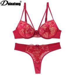 21ce1f22e6d3 Sexy Lace Bra Intimate Set Push Up Lcate Sexy Lingerie Set Panty Underwear  2 5 Cup 60B 65B 80B 85B