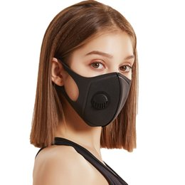anti pollution mask wholesale Canada - Face Protective Mask Anti Pollution PM2.5 Mouth Mask Anti-Dust 5 Layer Filter Reusable Mask Cotton Unisex Reusable Masks
