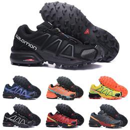 65190b5492 Speed Cross 4 CS IV Running Shoes For Men Women Designer Fashion Outdoor  Walking Jogging Hiking SpeedCross 4 Sneakers Athletic Sports Shoes