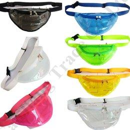 Chinese  Women Designer Fanny Pack Laser Hologram belt Waist Bag Waterproof Translucent Shiny Chest Bags Travel Beach Bum Bag Phone Pouch C72601 manufacturers