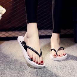 $enCountryForm.capitalKeyWord Australia - 2019 Hot Selling Summer New Fashion Slippers Flip Flops Sequins Tassels Flowers Pattern Platform Shoes Woman Ladies Girls Love Stock in