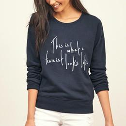 $enCountryForm.capitalKeyWord NZ - 2017 funny hip-hop harajuku hoodies women This Is What a Feminist Looks Like print femme brand tracksuit fitness kpop sweatshirt