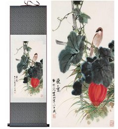 Art Canvas Prints Australia - Birds And Flower Painting Traditional Chinese Art Painting Birds And Flower Pictureprinted Painting2019061537