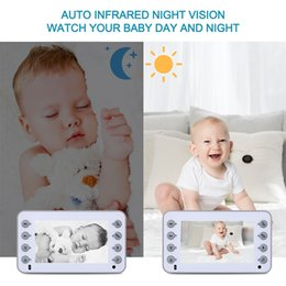 wireless cameras Australia - CYSINCOS 4.3 Inch Baby Monitor Baby Care Device Two-Way Talk Multi-Camera Wireless Video Monitors Camera