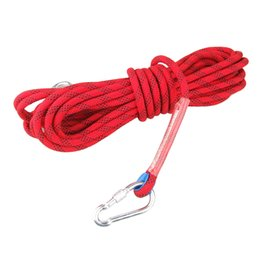 tree gear Canada - 25KN 12mm Pro Rock Tree Climbing Auxiliary Rope Sling Safety Rapelling Cord Gear